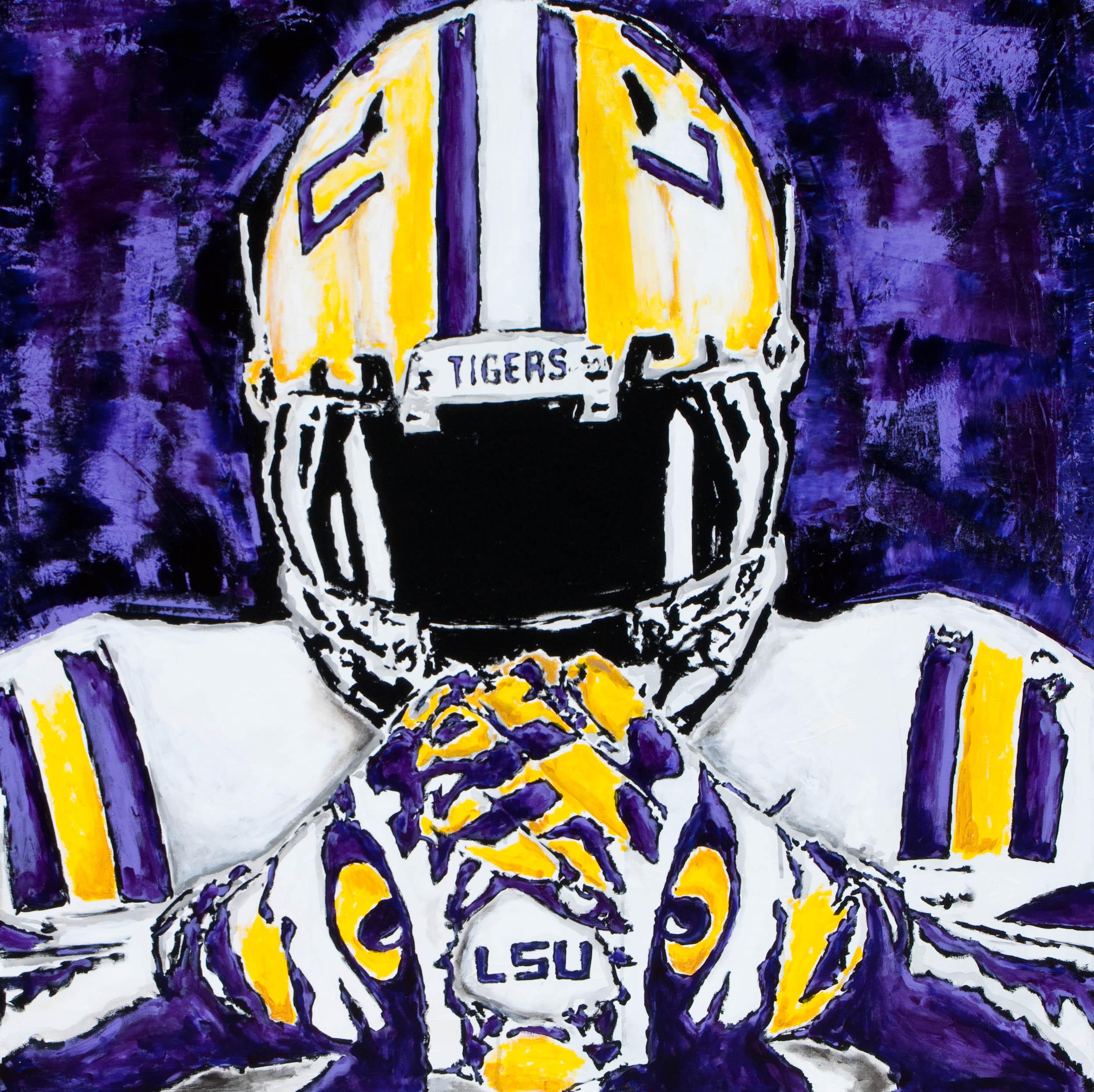 Drew nussbaum modern artist lsu art for Sec football wallpaper